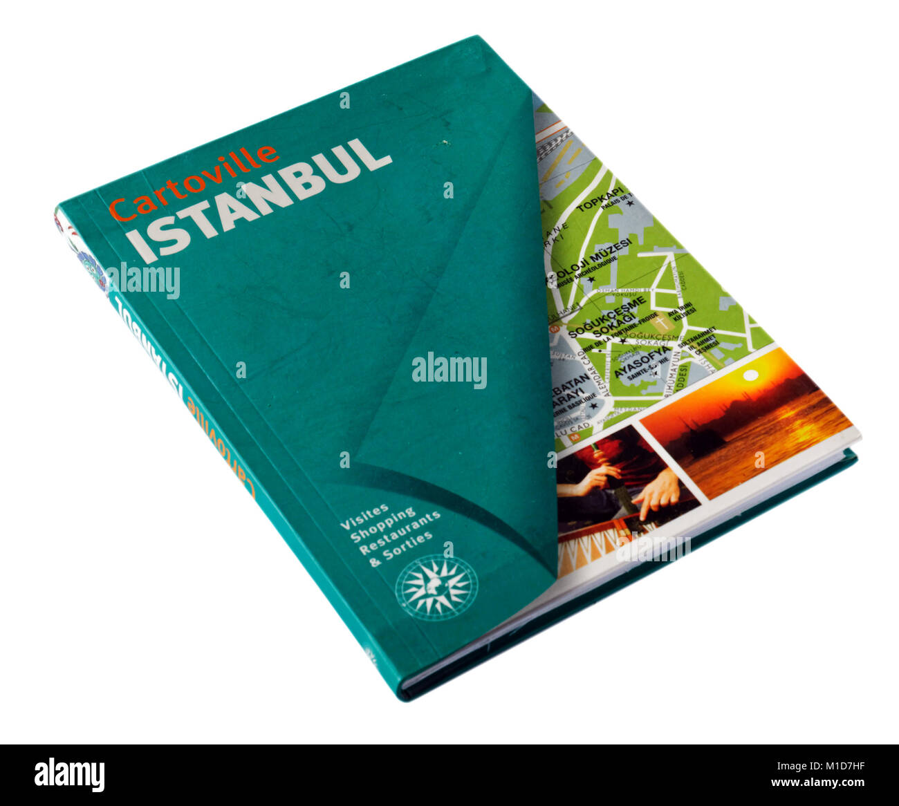 The Cartoville city guide to Istanbul - Stock Image