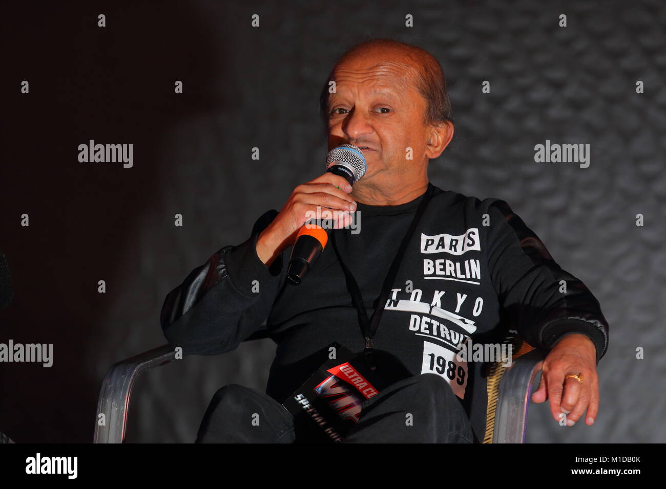 Kiran Shah Guest Speaker At Ultra Con - Stock Image