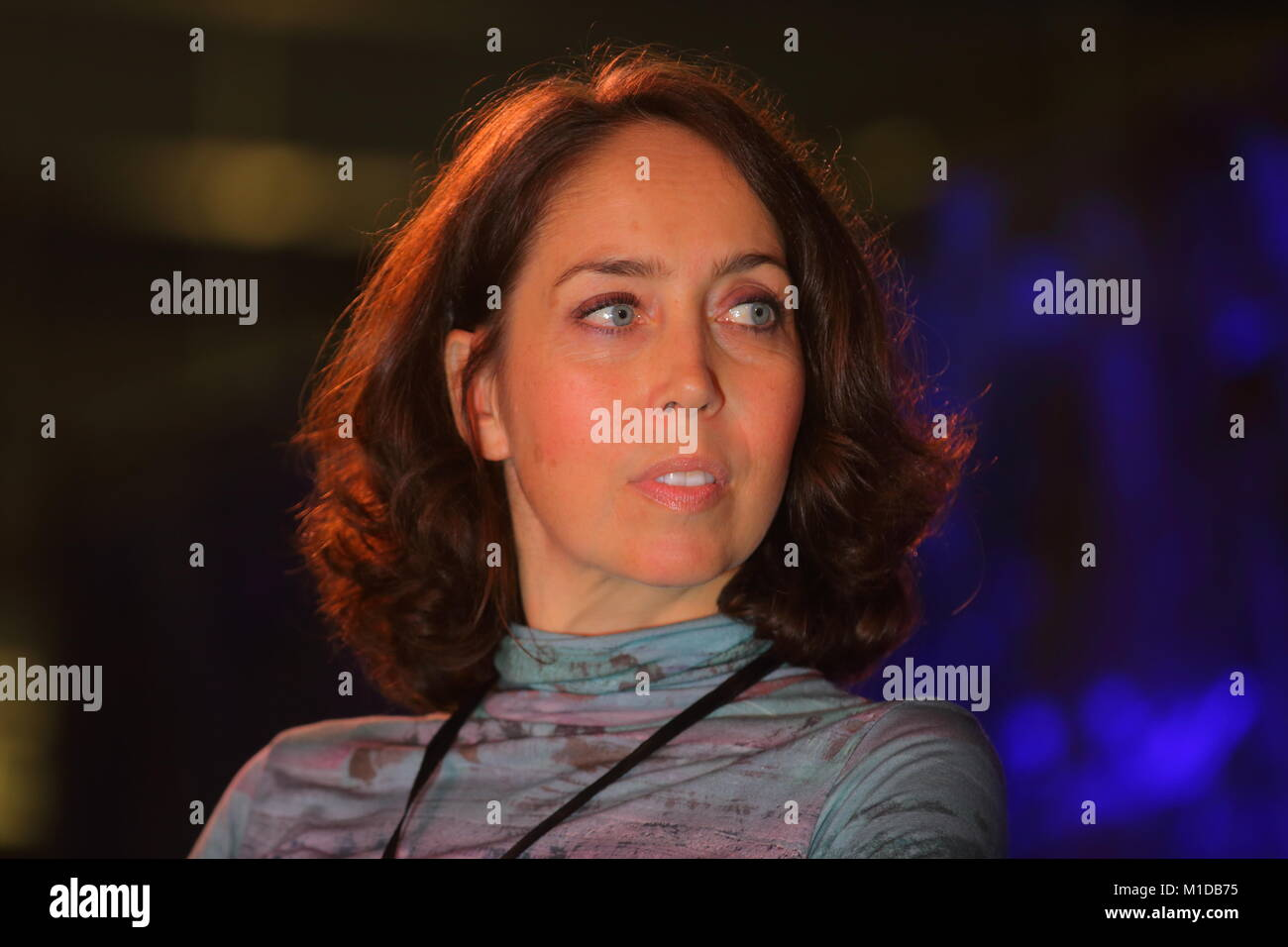 Nathalie Cuzner Guest Speaker At Ultra Con - Stock Image
