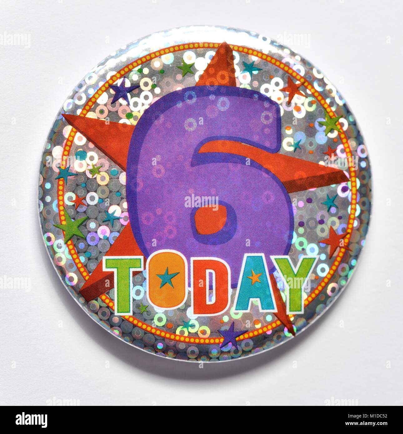 NEW NAME BIG 30th BIRTHDAY BADGE BIG PERSONALISED BADGE ANY AGE /& COLOURS