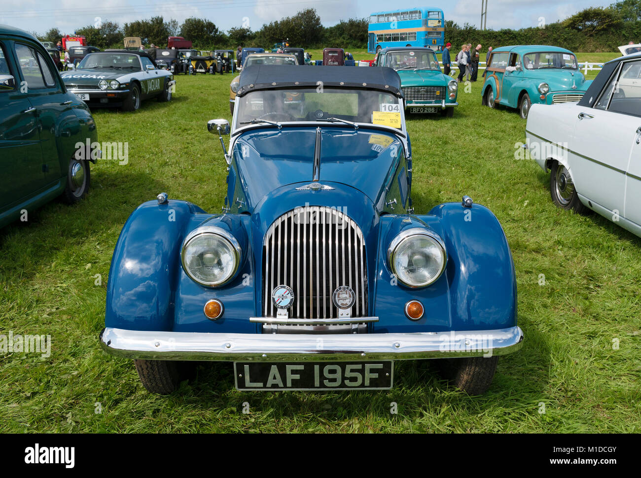 vintage morgan sports car, - Stock Image
