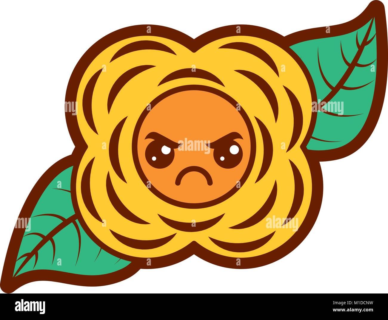 Yellow Flower Icon Cartoon Style Stock Photos Yellow Flower Icon