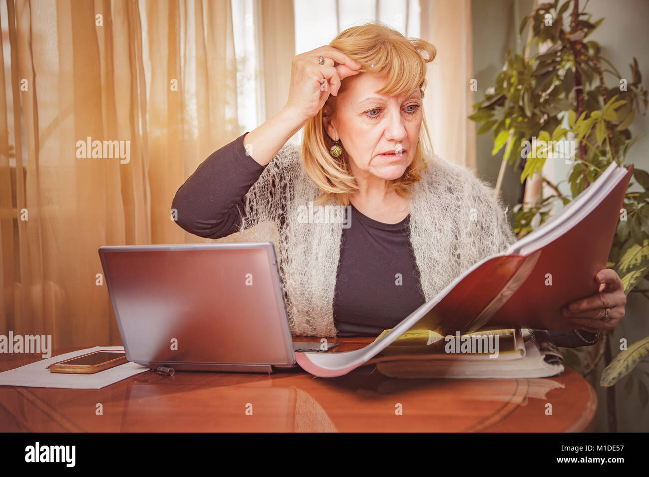 Something's not right - Stock Image