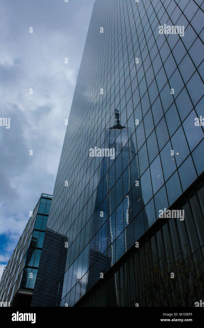 World Trade Center New York,2017 - Stock Image