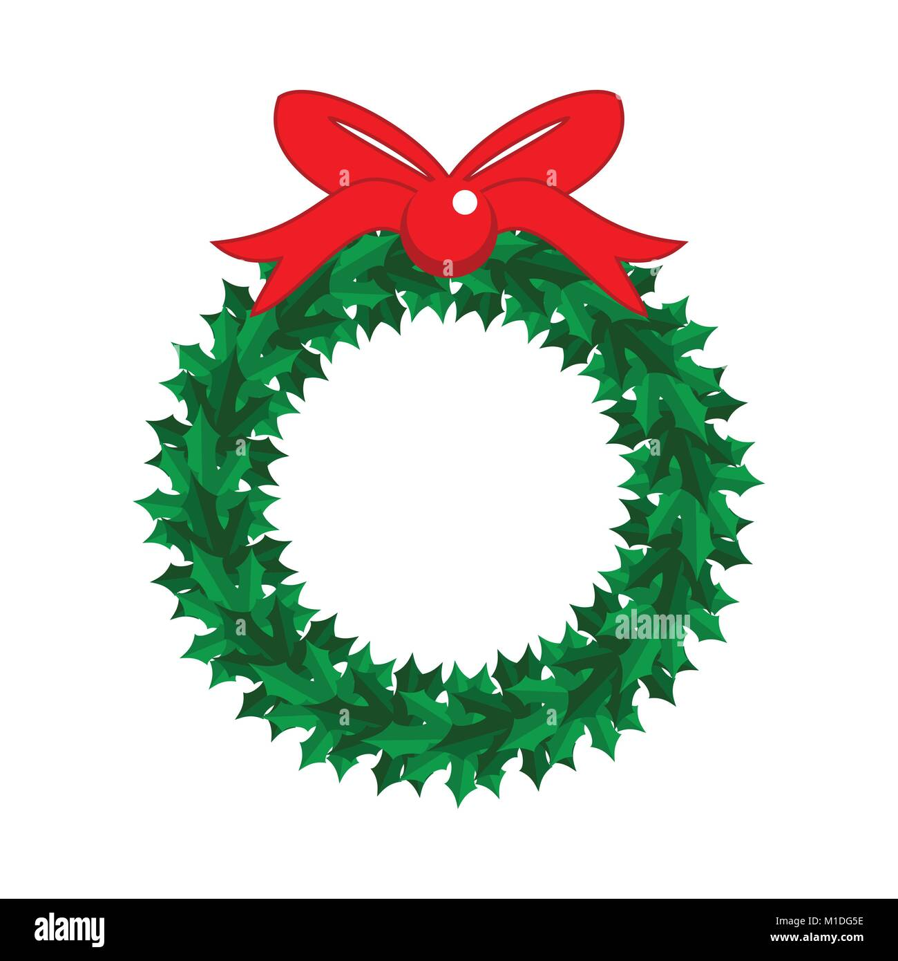 Christmas Garland Vector Graphic Illustration Sign Symbol Design