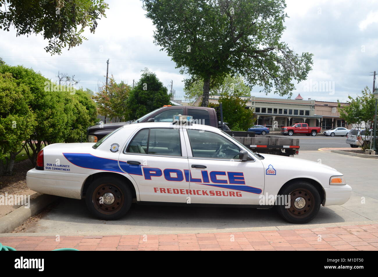Small Town Police Cars Stock Photos & Small Town Police Cars