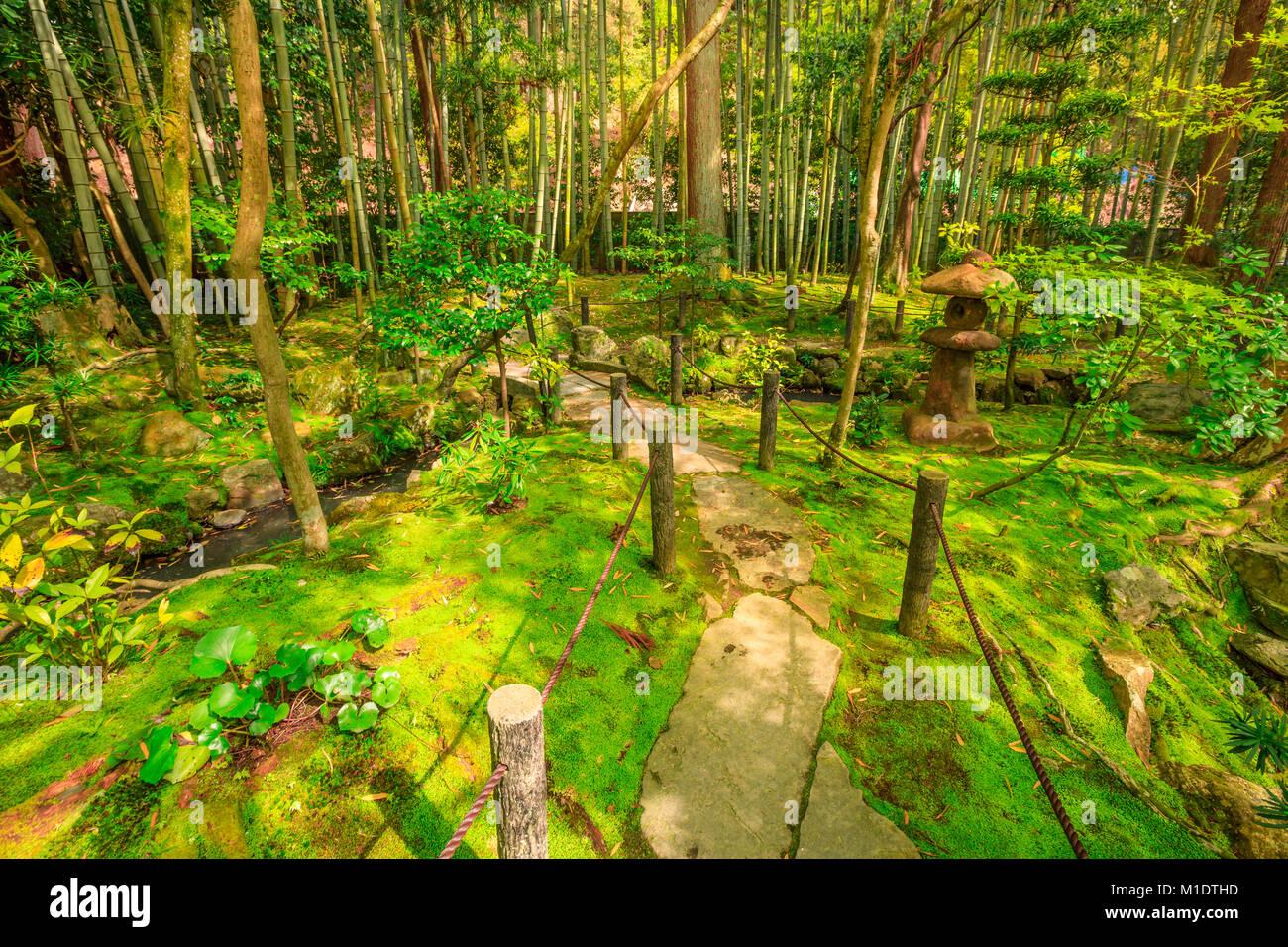 Nanzen-ji Zen Garden - Stock Image