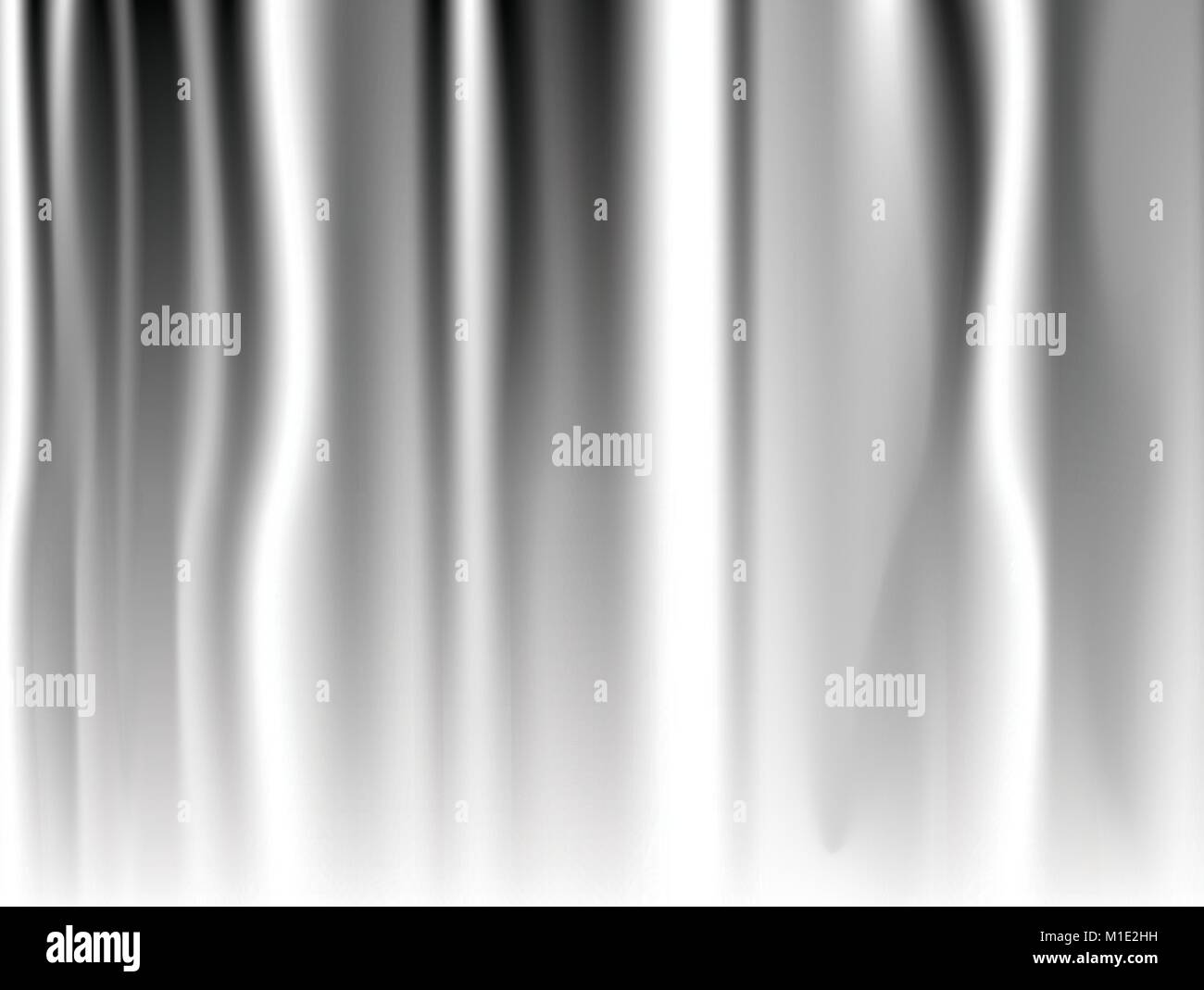 Abstract white background Vector White Satin Silky Cloth Fabric Textile Drape with Crease Wavy Folds. with soft - Stock Image