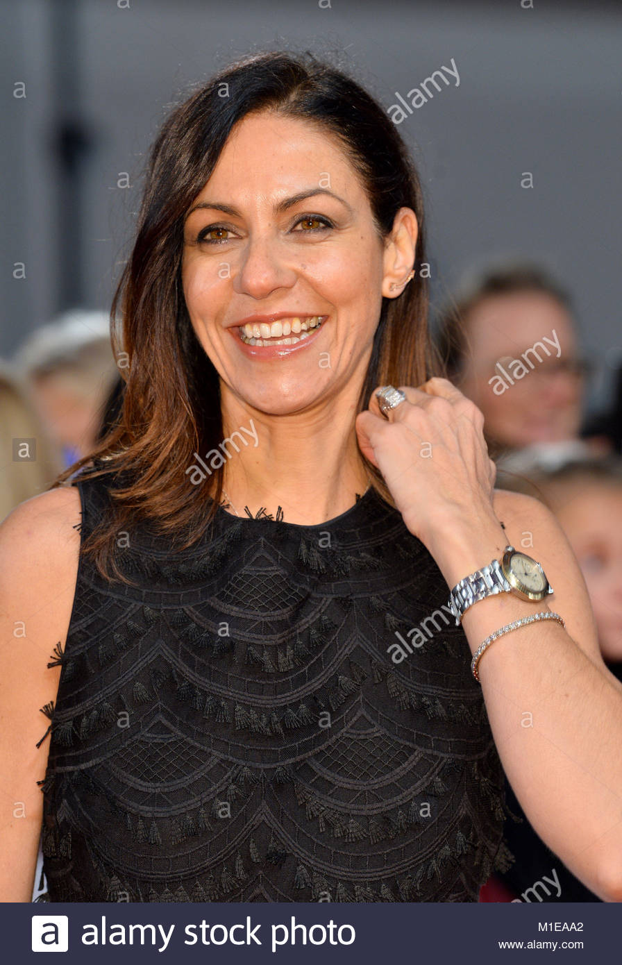 File photo dated 25/01/17 of TV presenter Julia Bradbury, who has has criticised the decision to give pay cuts to - Stock Image
