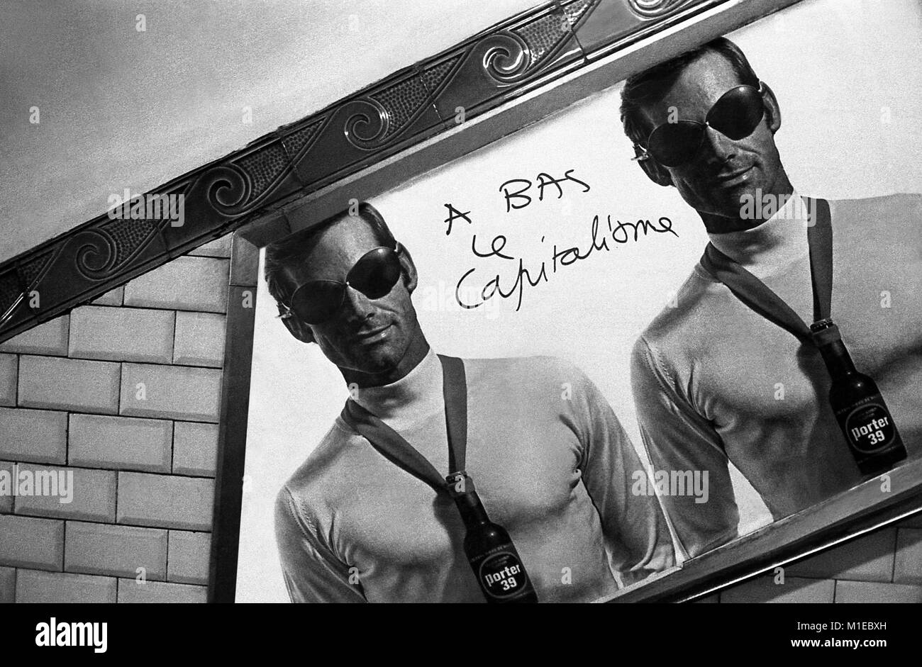 Philippe Gras / Le Pictorium -  Events of may 1968 in FRANCE. -  1968  -  France / Ile-de-France (region) / Paris Stock Photo