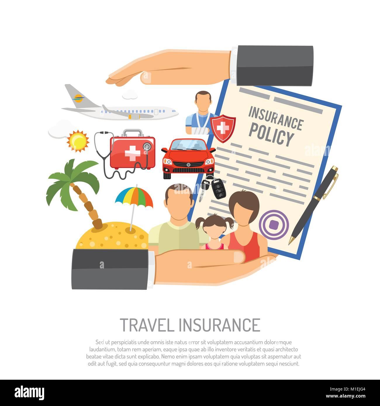 Travel Insurance Concept - Stock Image