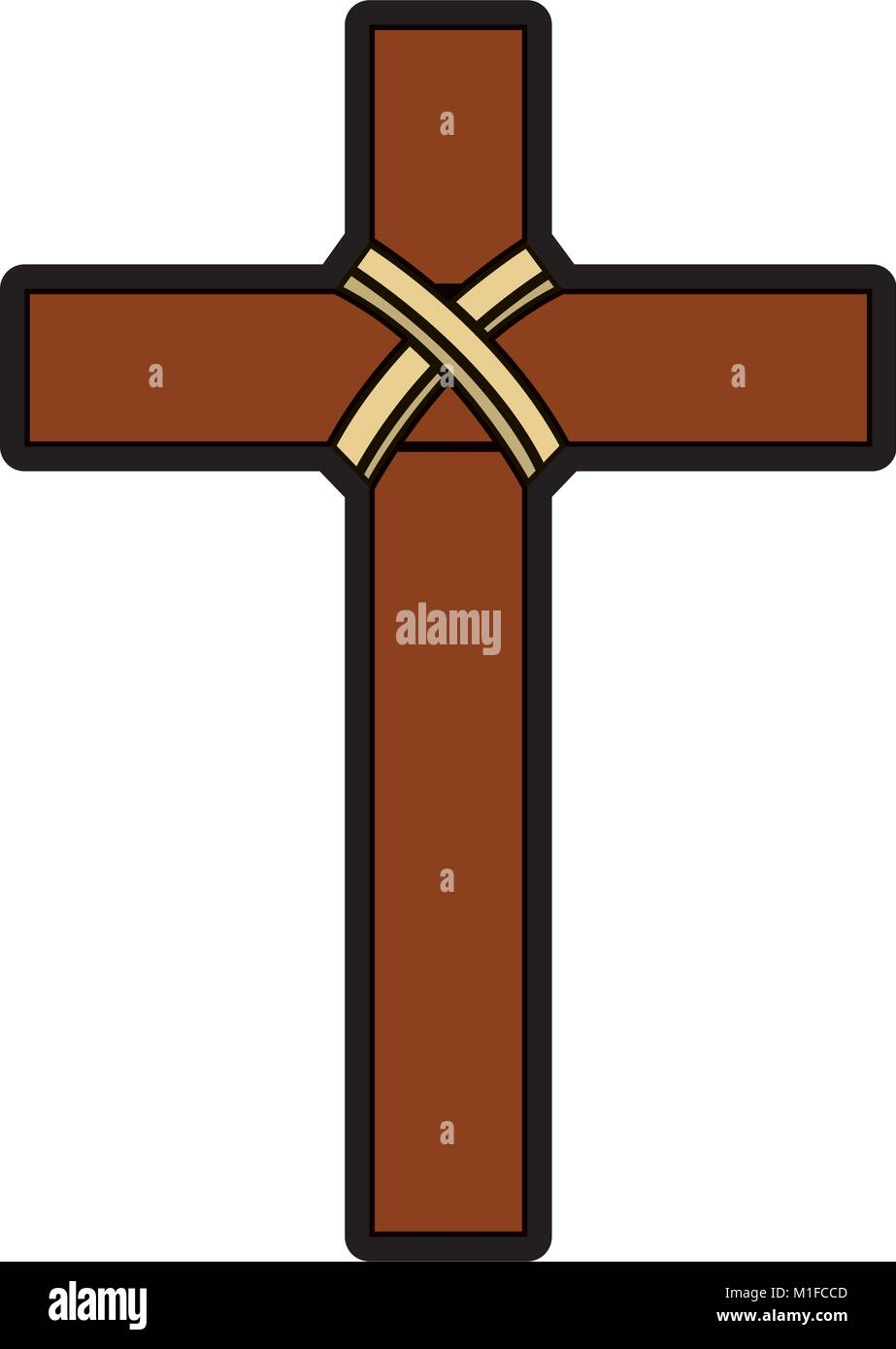 Christianity stock vector images alamy religious wooden cross christianity symbol stock vector biocorpaavc Gallery