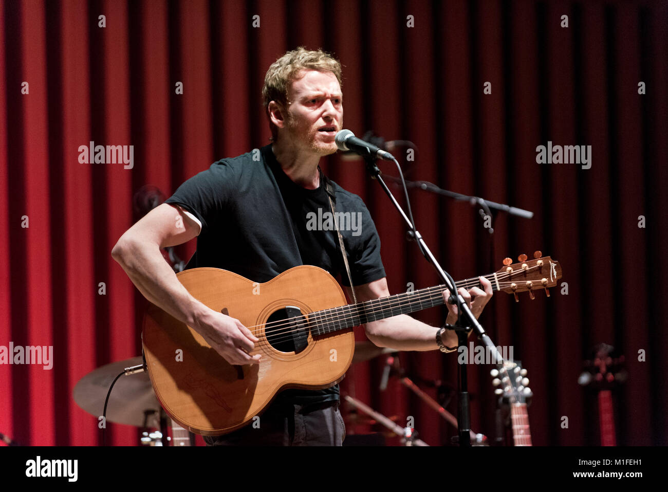 Manchester, UK. 29th Jan, 2018. Teddy Thompson in concert at The Stoller Hall, Manchester, UK, 29th January 2018. - Stock Image