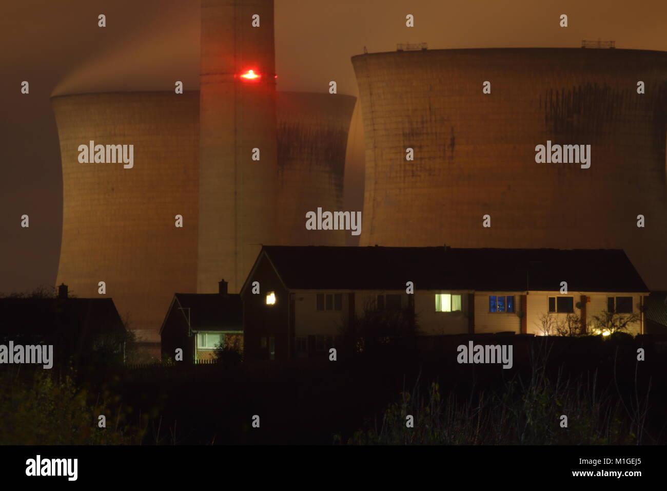 Ferrybridge Power Station - Stock Image