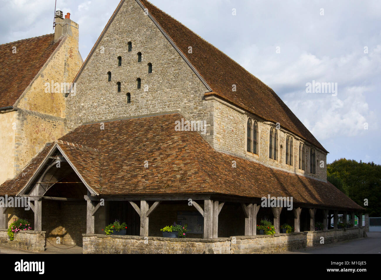 Historic architecture in Sees, Orne, Normandy, France - Stock Image