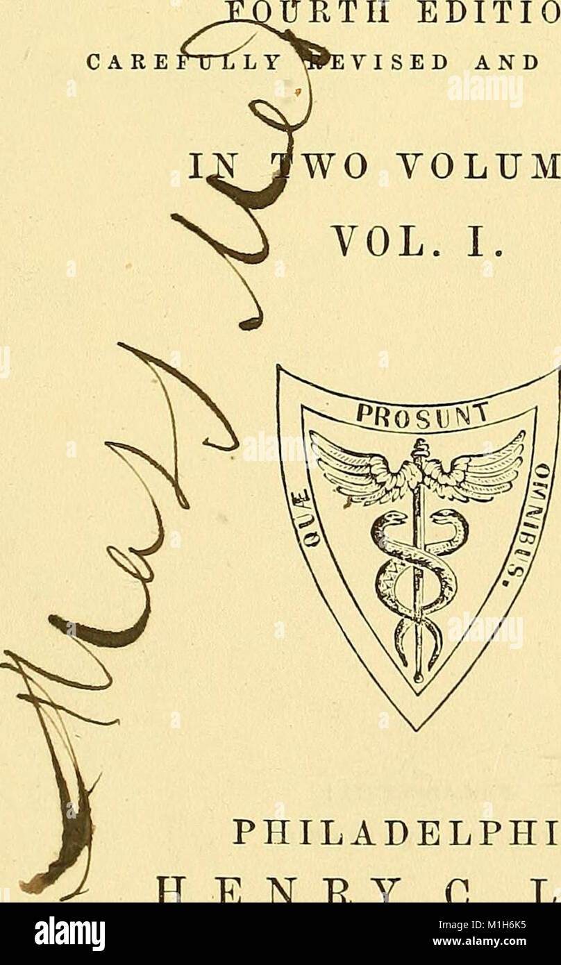 A system of surgery - pathological, diagnostic, therapeutic, and operative (1866) (14595047757) - Stock Image