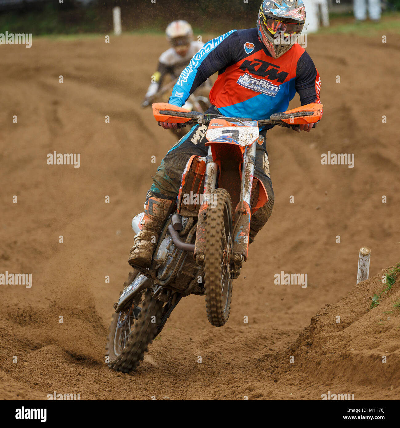 7c40eb5c8d6bb Jason Morland on the Jim Aim Racing / The Depot KTM 350 at the NGR &