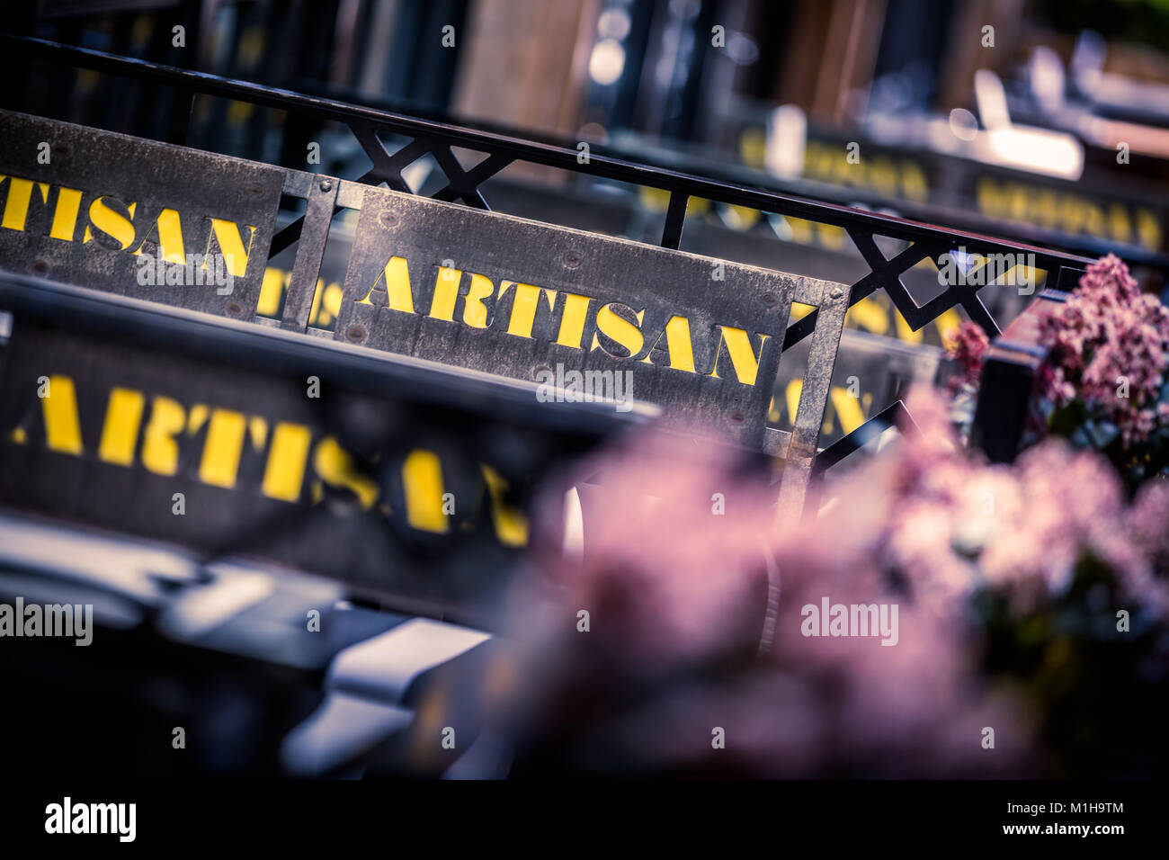 Artisan, Avenue North, 18-22 Bridge St, Manchester - Stock Image