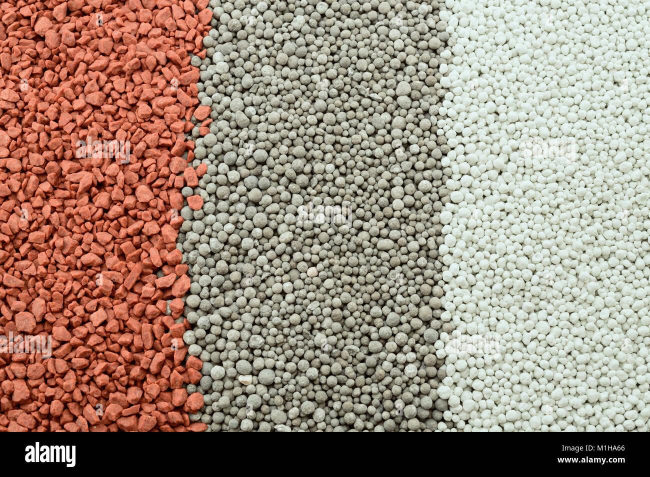Composite mineral fertilizers. Background - Stock Image
