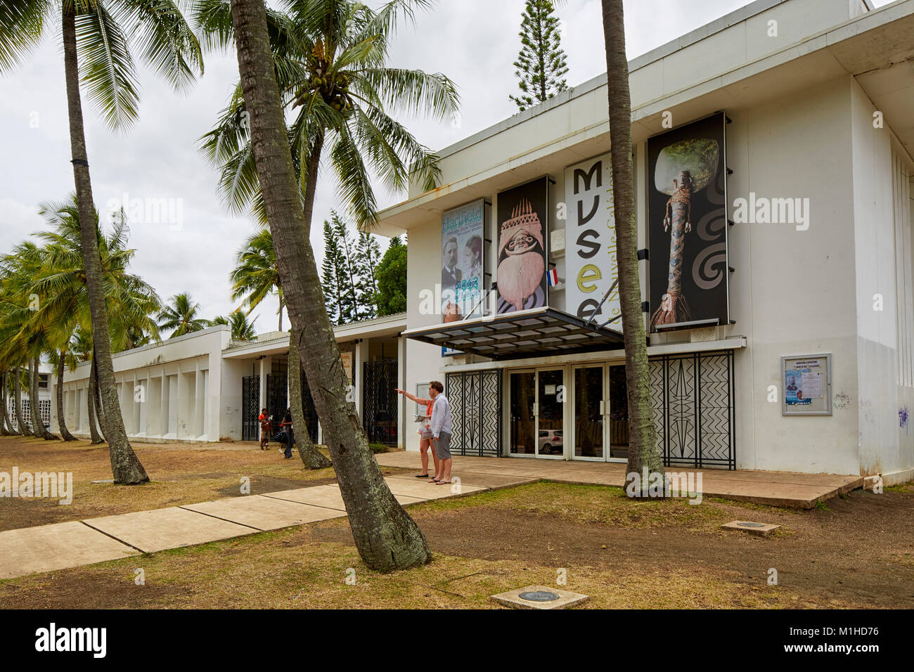 Museum of New Caledonia, Noumea, Nouvelle-Caledonie - Stock Image