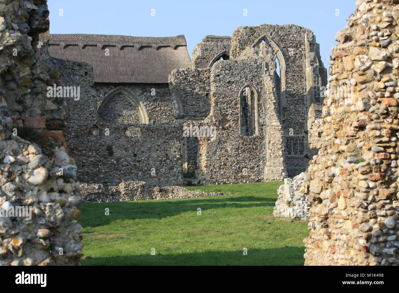 Leiston Abbey, Theberton, Suffolk, England - Stock Image
