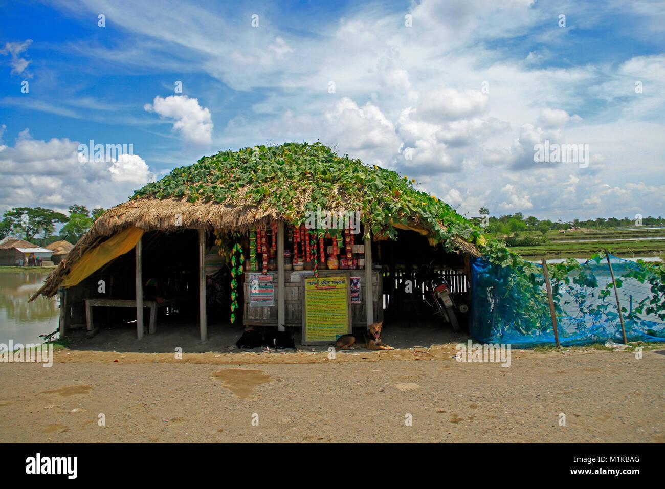 Coastal Lifestyle of Bangladesh. - Stock Image