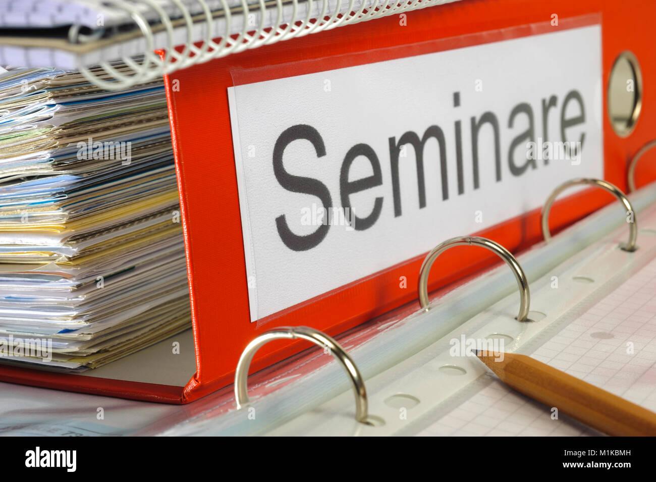 Seminare als Fortbildung - Wolfgang Filser [Jede Nutzung ist honorarpflichtig. Veroeffentlichung nur gegen Honorarzahlung, Urhebervermerk und Belegexe Stock Photo