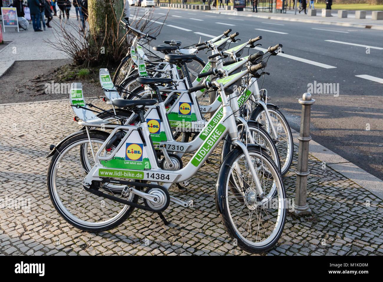 Rent Bike Berlin Stock Photos Rent Bike Berlin Stock Images Alamy