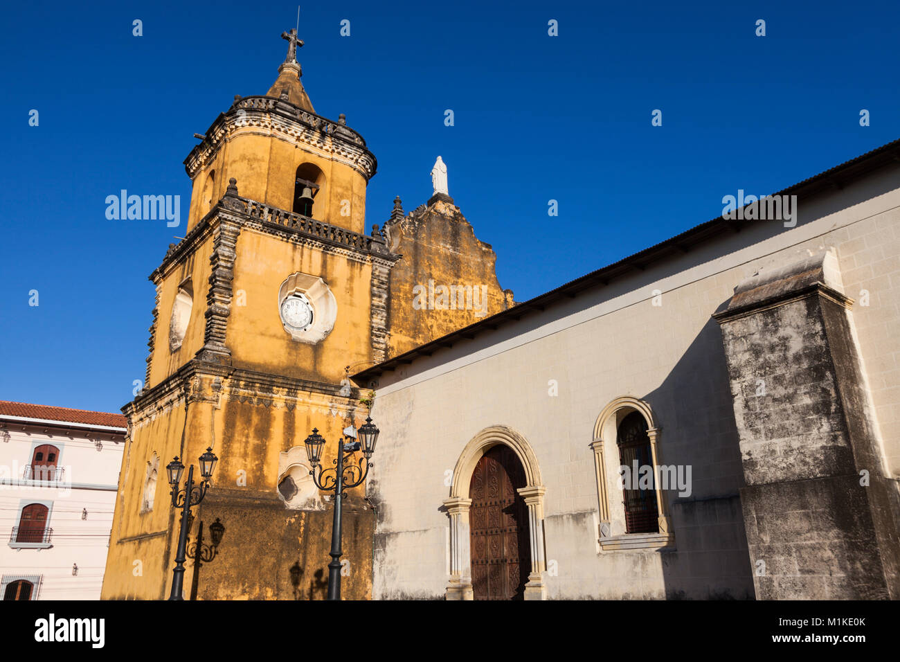 Church The Recollection in Leon. Leon, Nicaragua. - Stock Image