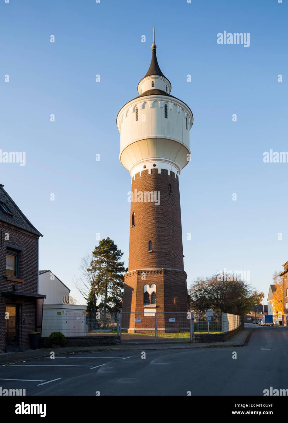 Krefeld-Hüls, Wasserturm, - Stock Image