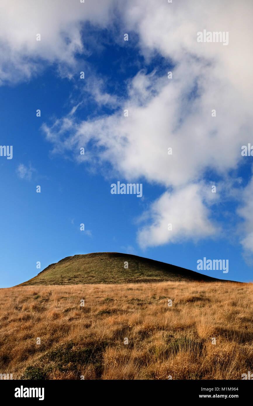 Craig y pistyll open moorland west Wales - Stock Image