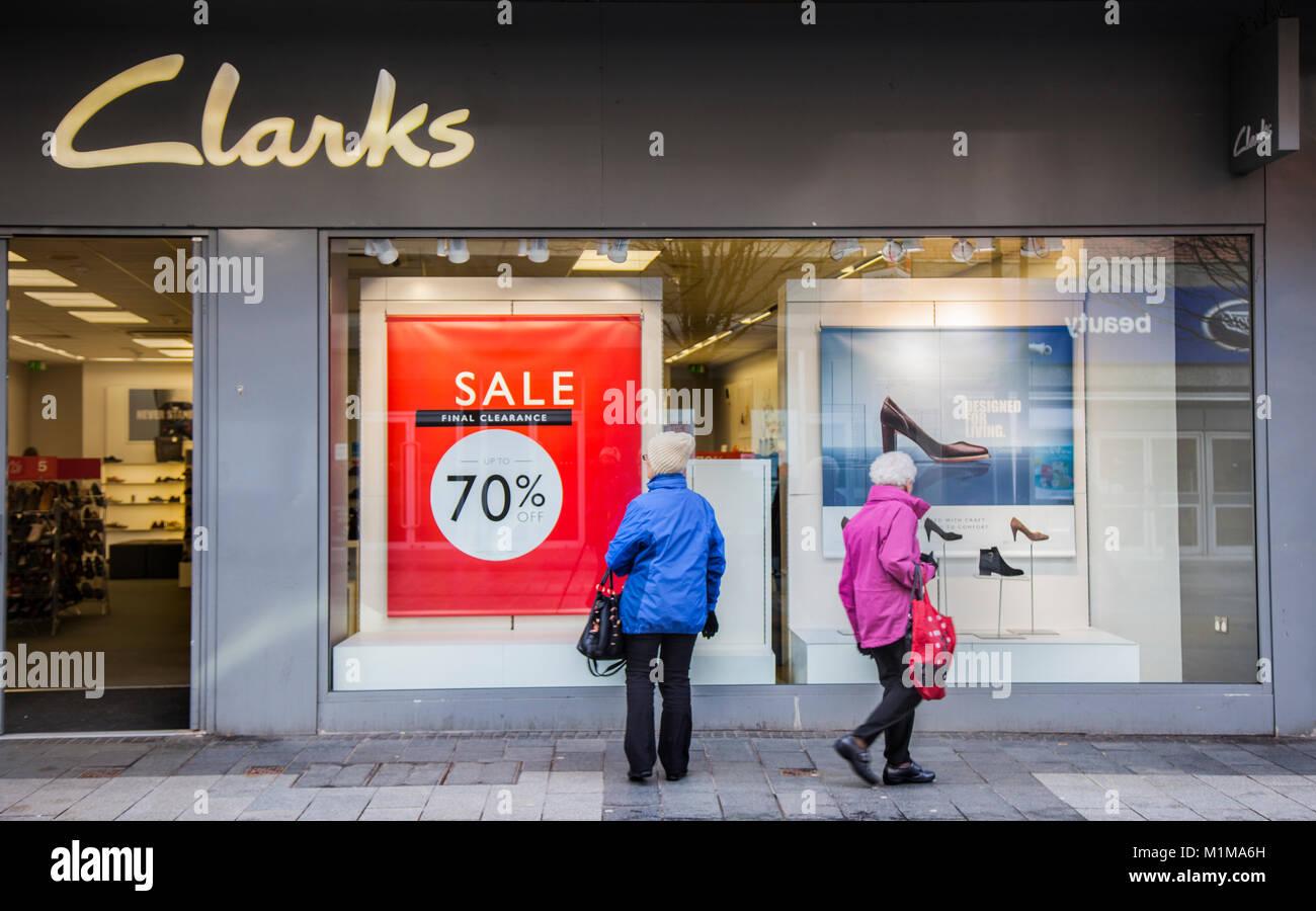 clarks factory outlet sale