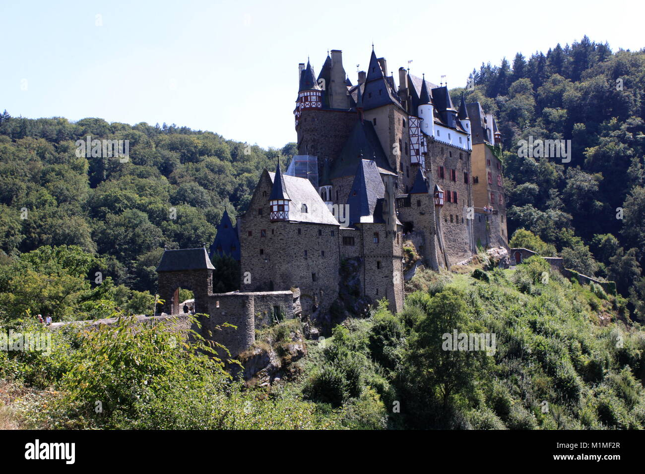 Burg Eltz Castle, Trier, Castle Germany - Stock Image