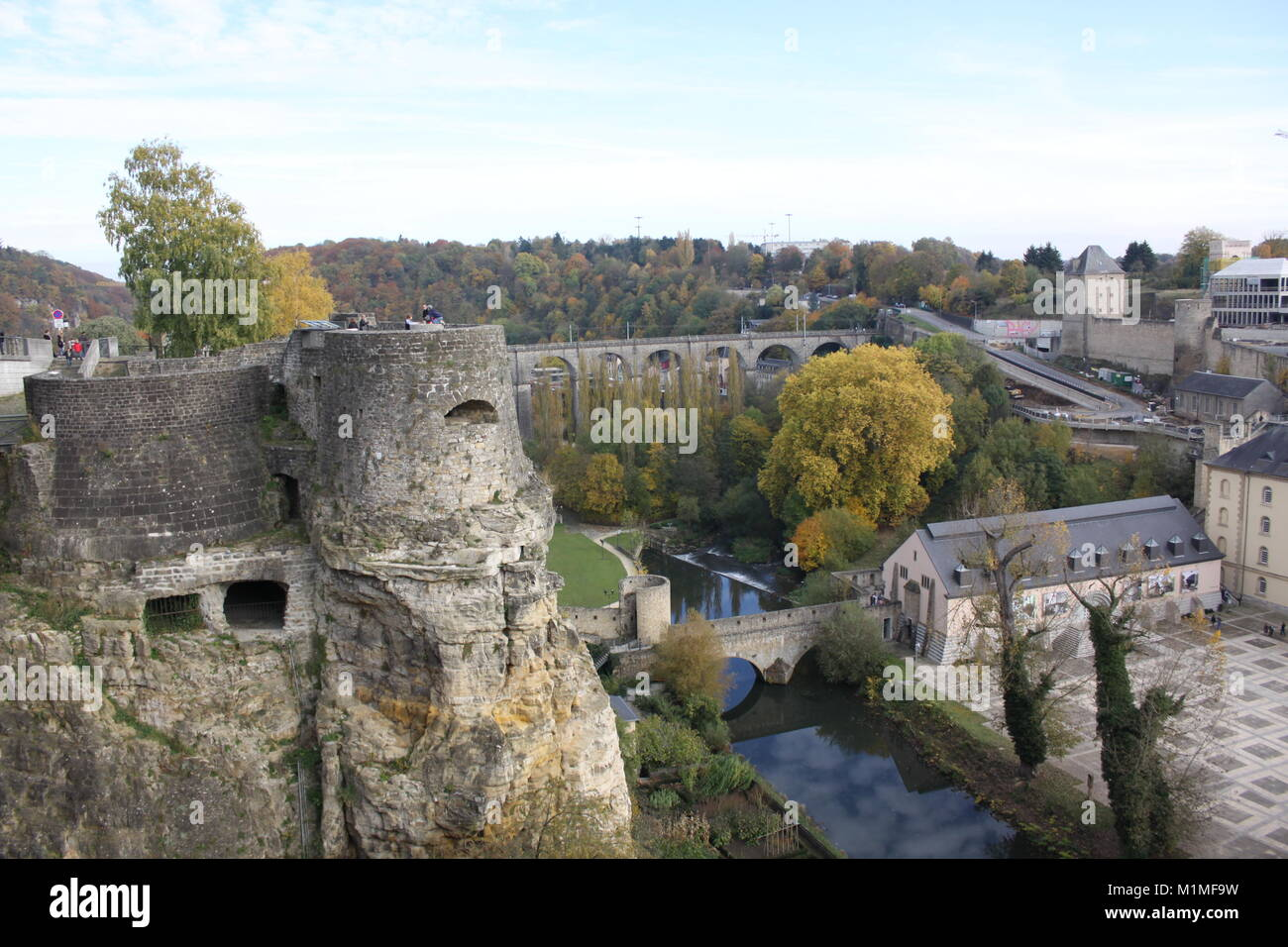 Grand Duchy of Luxembourg, Fortress, casemates, Malcolm Buckland - Stock Image