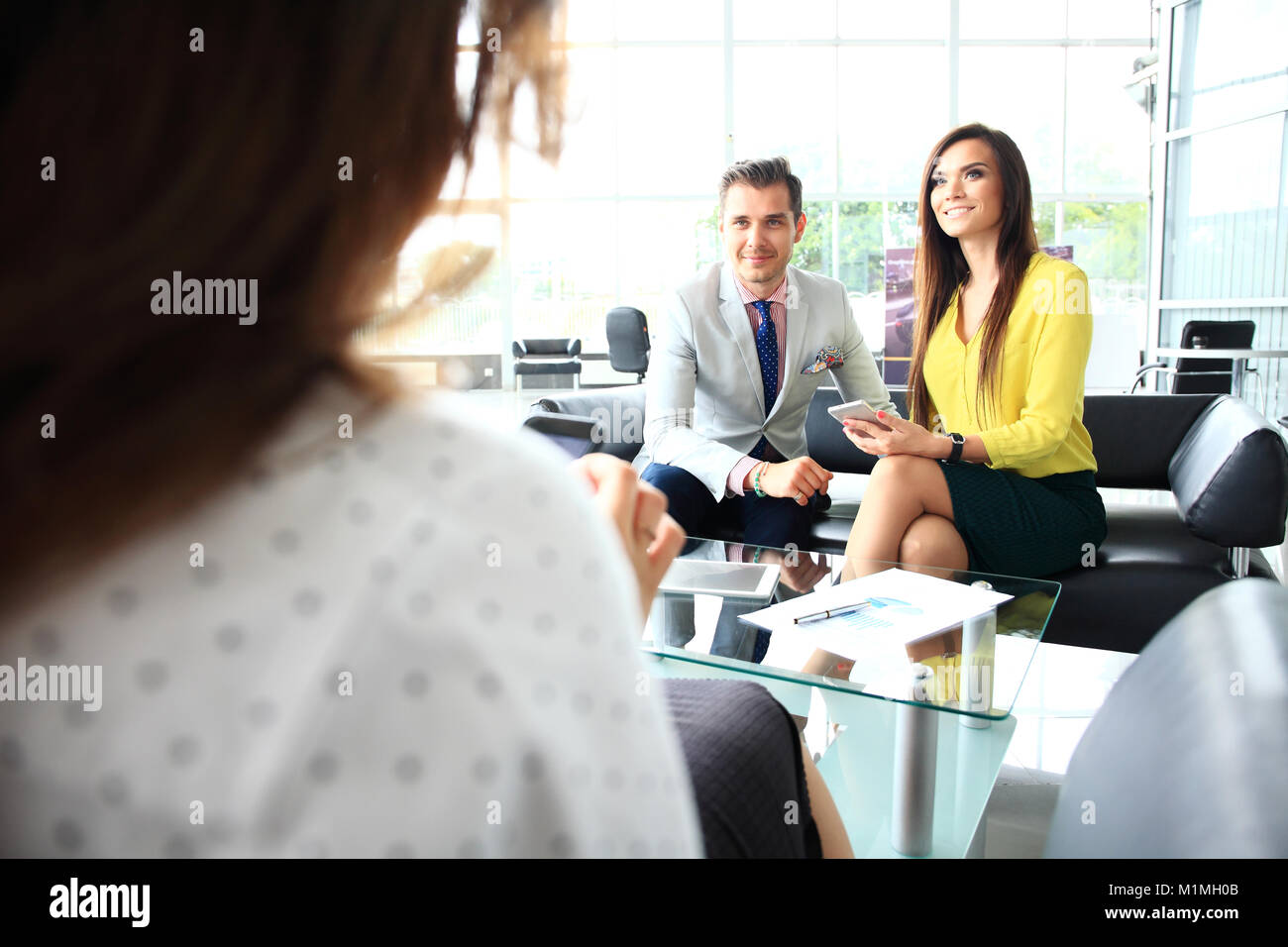 Business People Meeting Conference Discussion Corporate Concept. - Stock Image