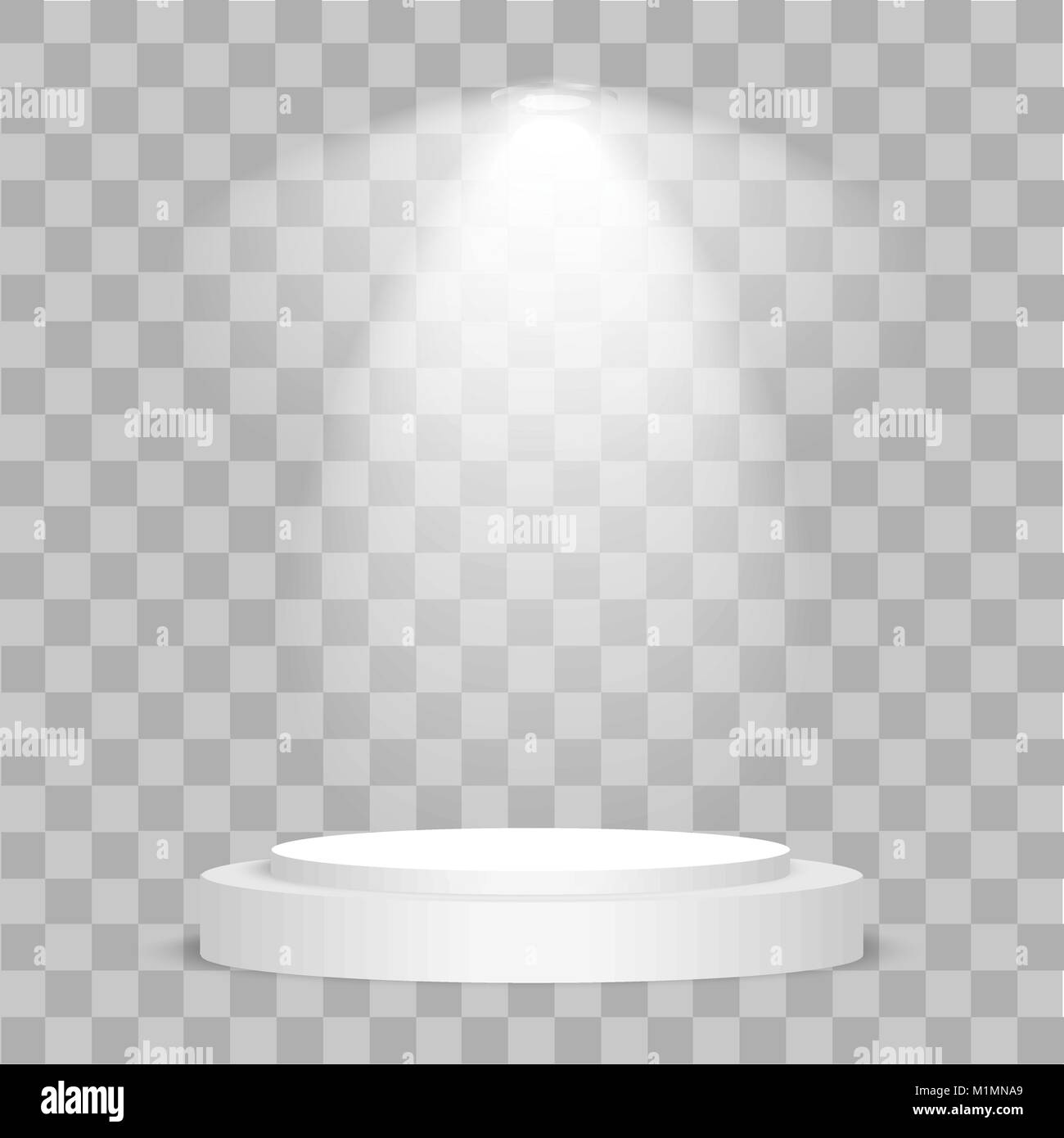 Round stage podium illuminated with light on transparent background round stage podium illuminated with light on transparent background stage vector backdrop festive podium scene with red carpet for award ceremony v dailygadgetfo Choice Image