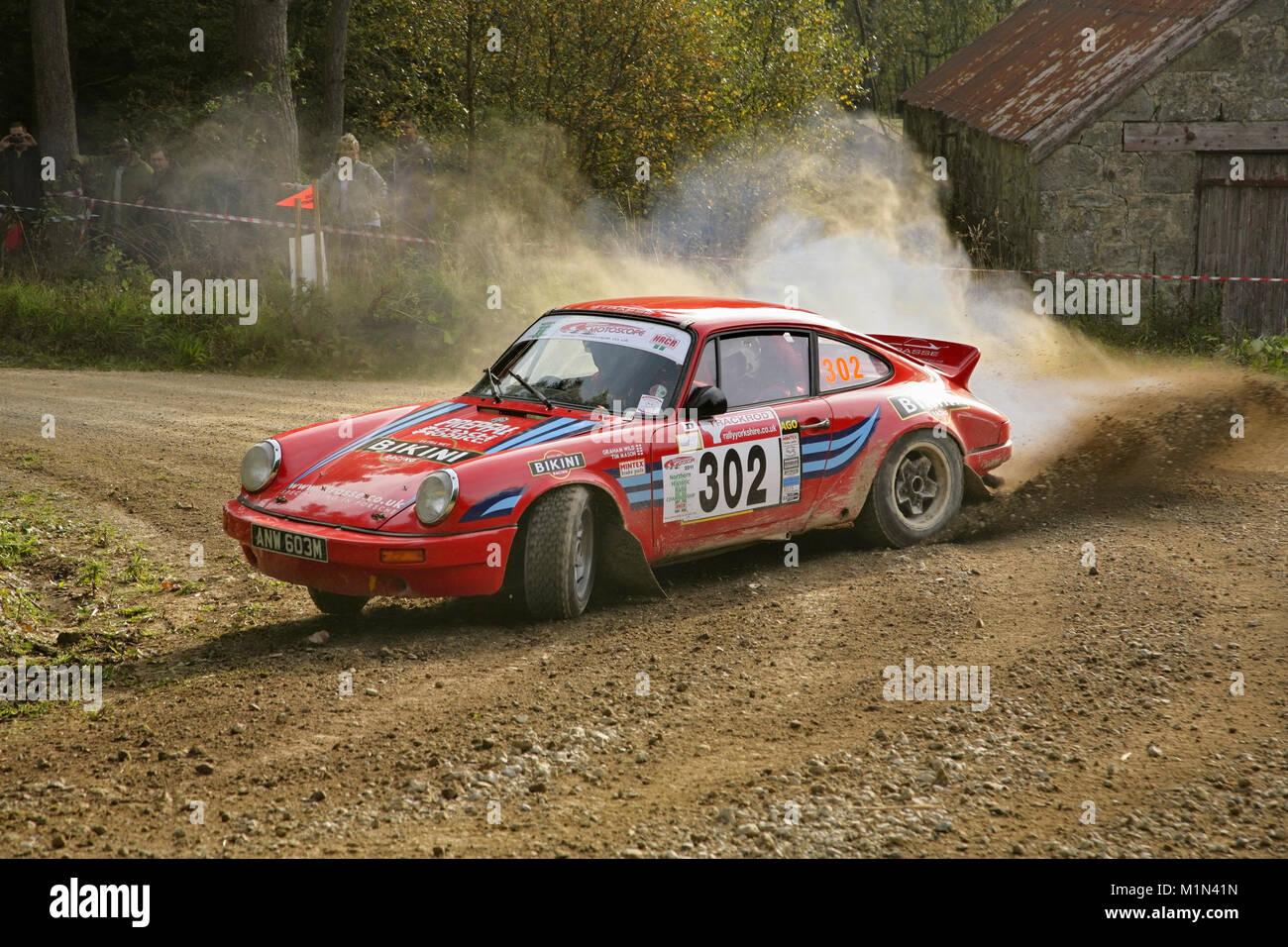 Historic Porsche 911 Rally Car Of Graham Wild And Tim Mason In Stock