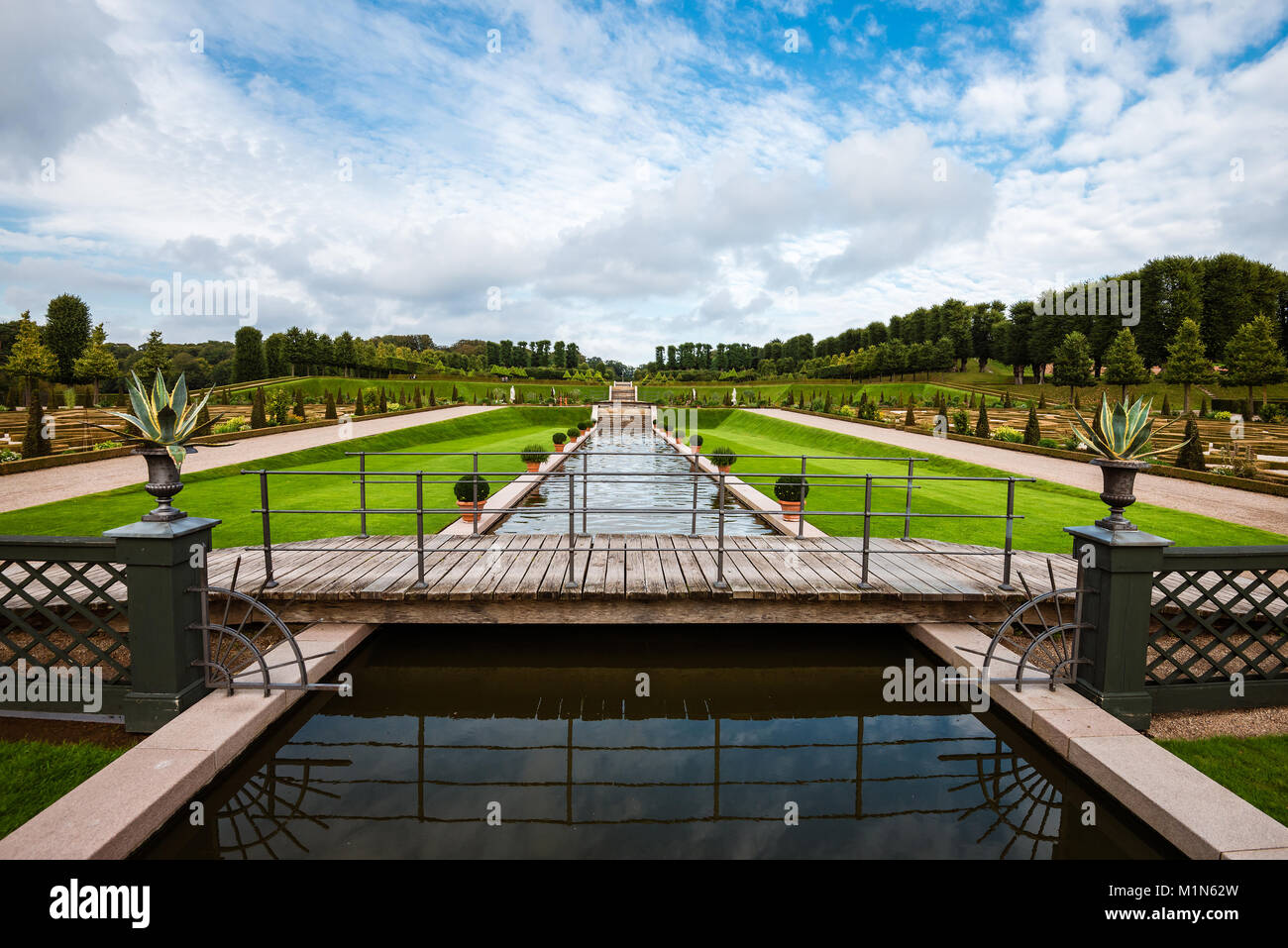 Frederiksborg Park View - Stock Image