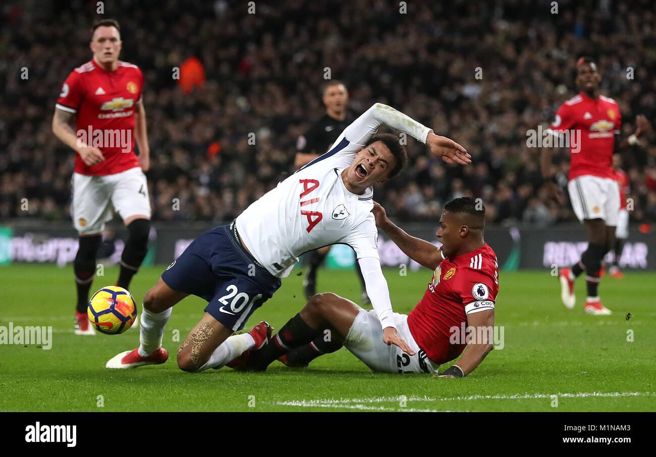Tottenham Hotspurs Dele Alli Left Stock S & Tottenham