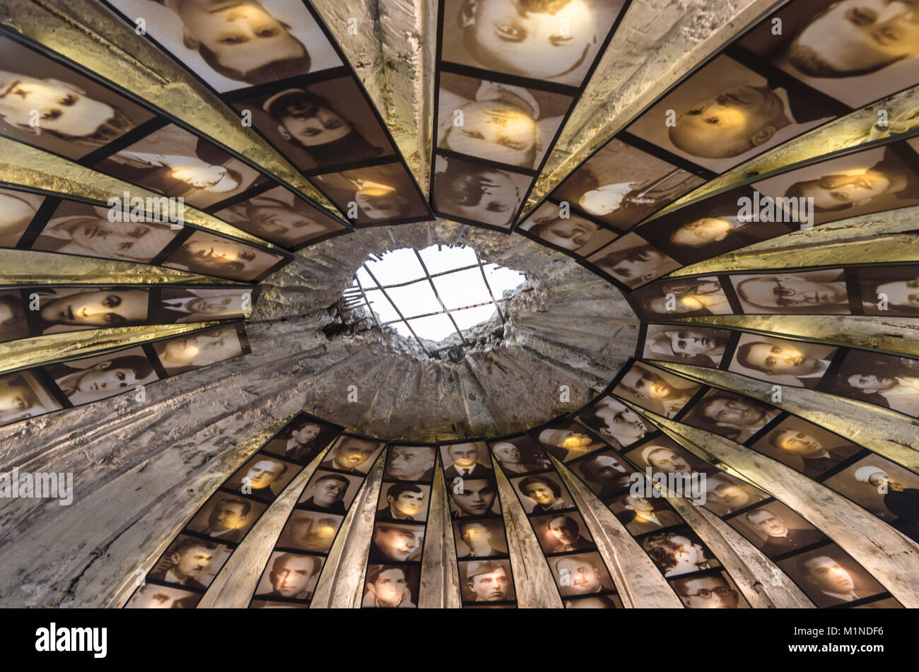 TIRANA, ALBANIA - 7 JULY 2017: The Bunk art Museum is situated inside an atomic bunker of the Enver Hoxha. - Stock Image