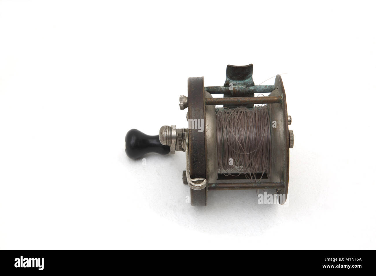 Vintage Four Brothers Sumco Fishing Reel - Stock Image