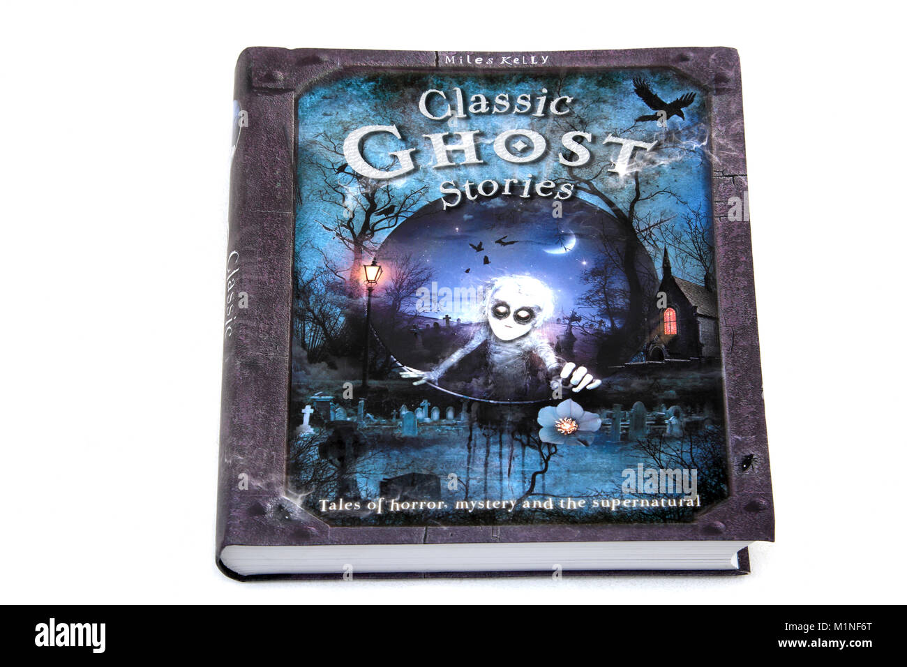 Hardback Book Classic Ghost Stories by Miles Kelly Stock Photo ...