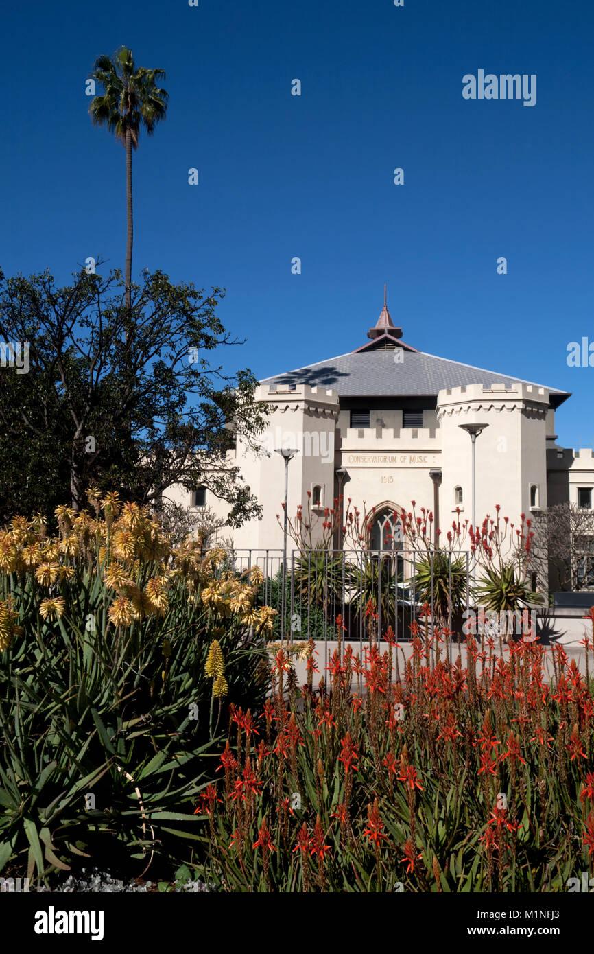 conservatorium of music royal botanic garden sydney new south wales australia - Stock Image