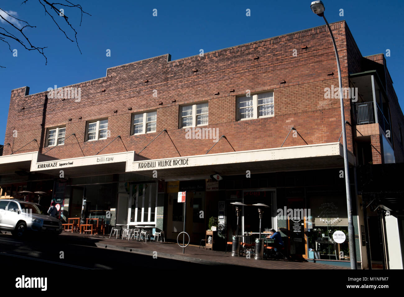 kirribilli village arcade kirribilli north sydney new south wales australia - Stock Image
