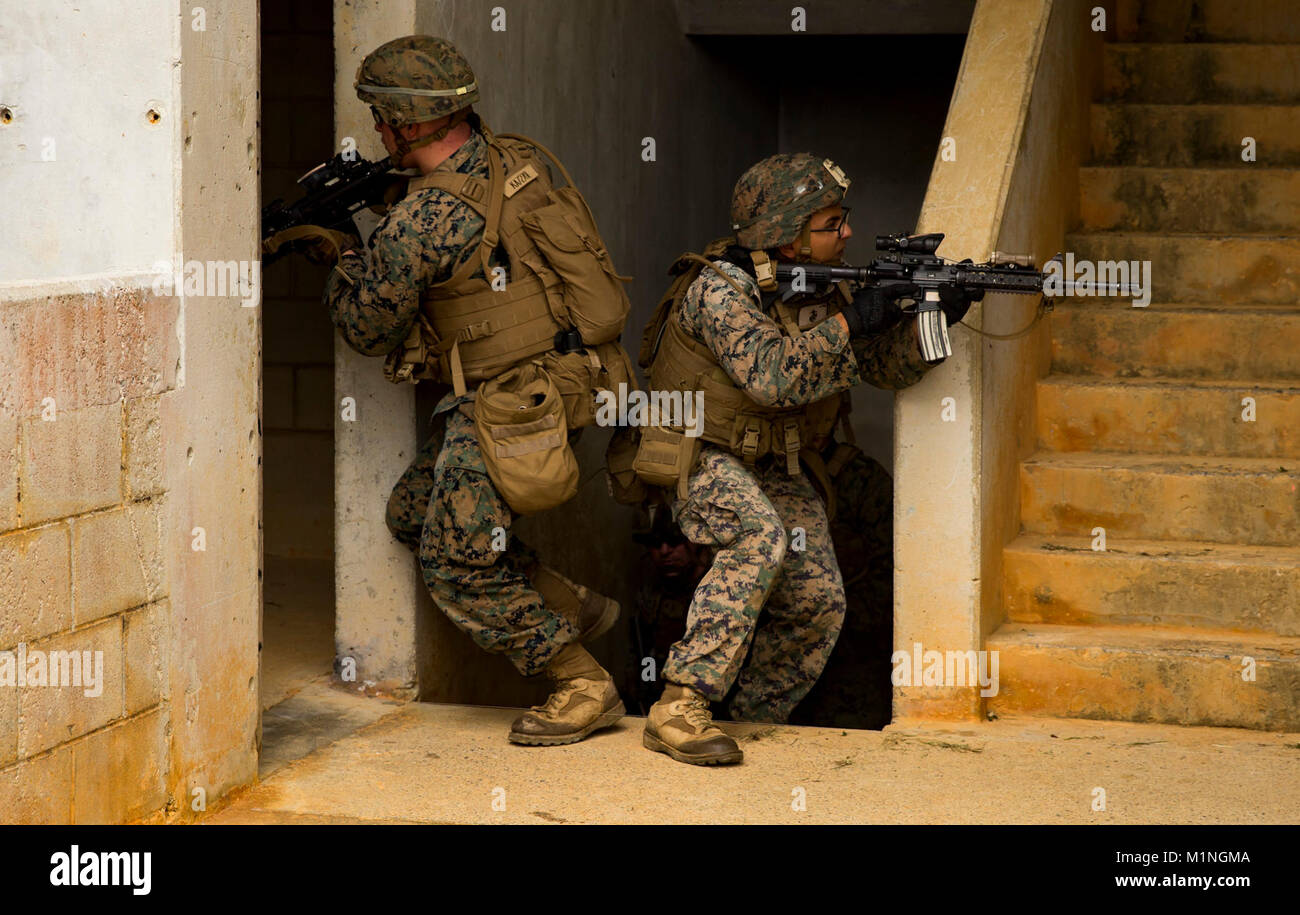 From Left U S Marines Lance Stock Photos & From Left U S Marines