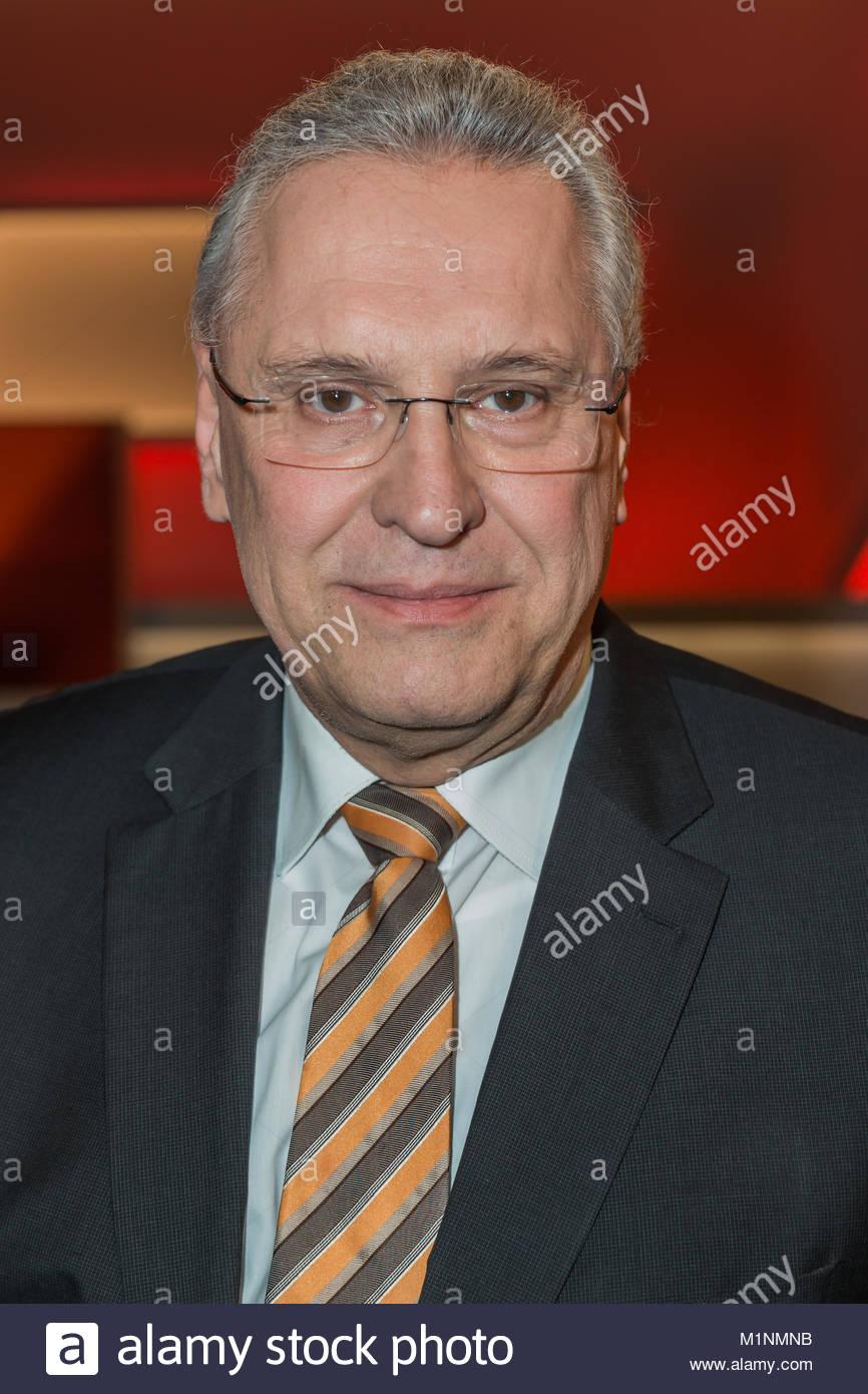 Joachim Herrmann - CSU, Bayerischer Staatsminister des Innern und moeglicher neuer Innenminister in einer unionsgefuehrten - Stock Image