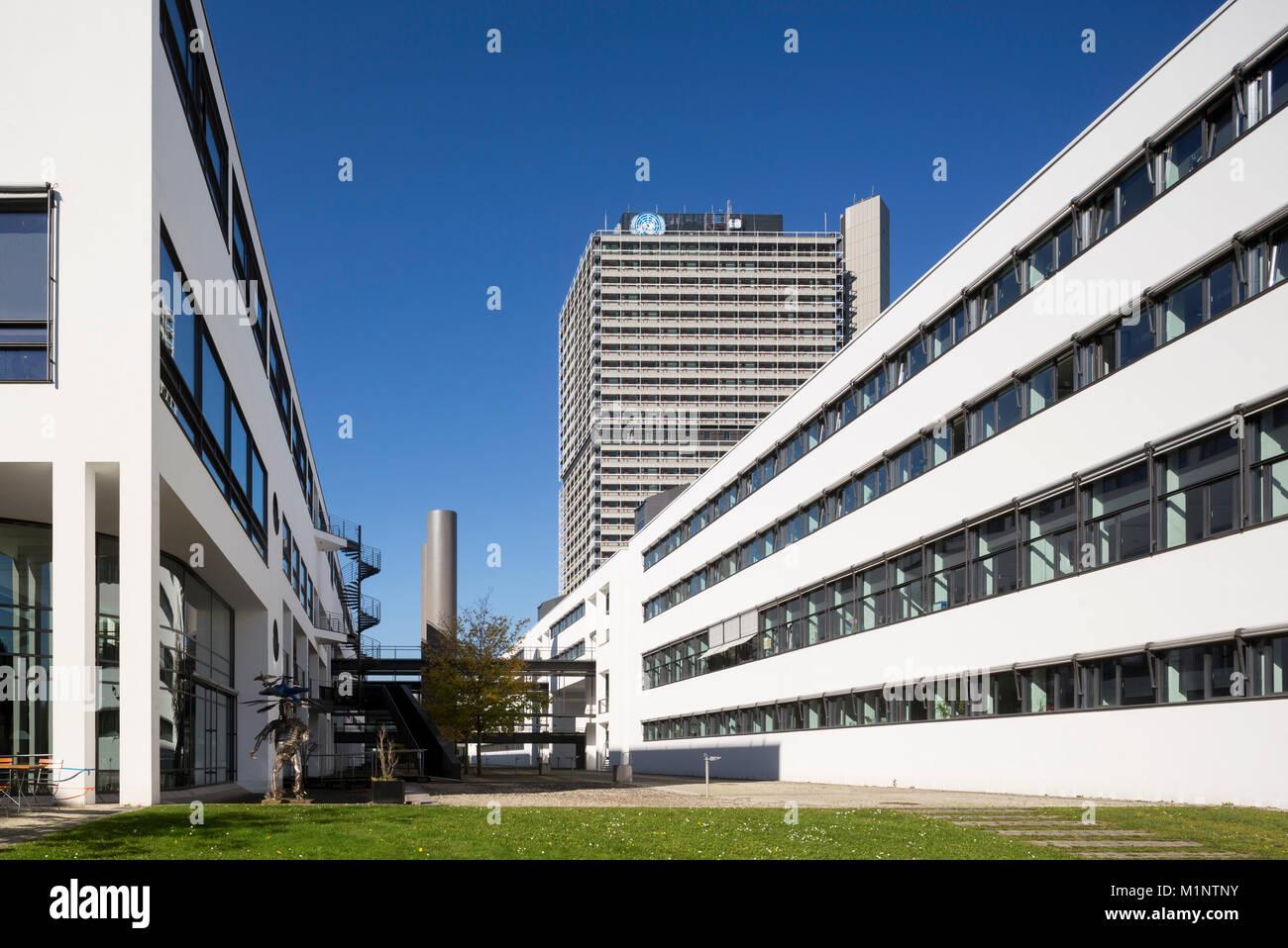 Bonn, Regierungsviertel (Bundesviertel, Parlamentsviertel), 'Schürmann-Bau, Sitz des Senders ''Deutsche - Stock Image