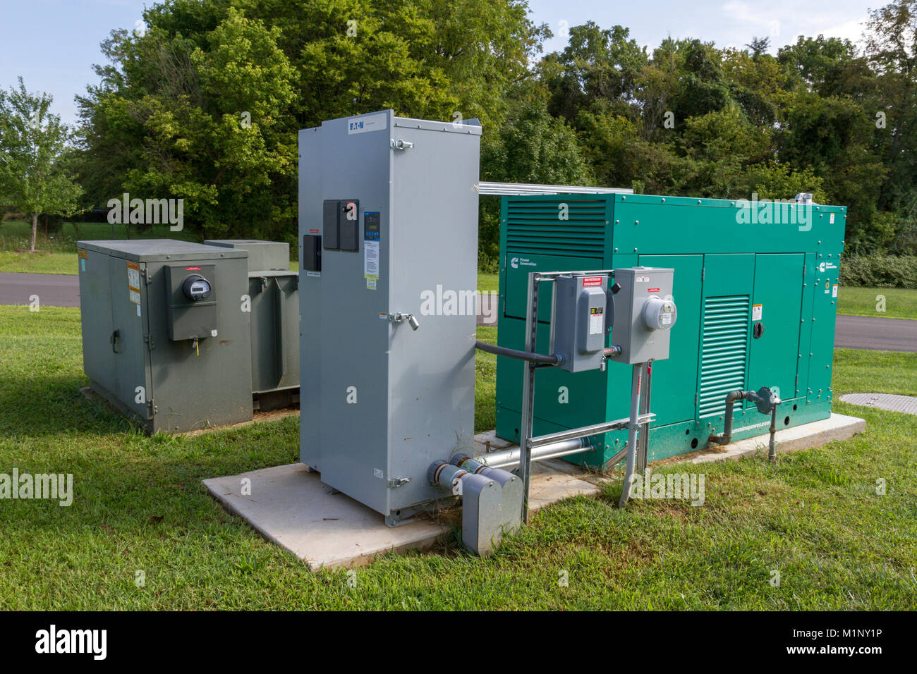 Standby Generator Stock Photos & Standby Generator Stock Images - Alamy