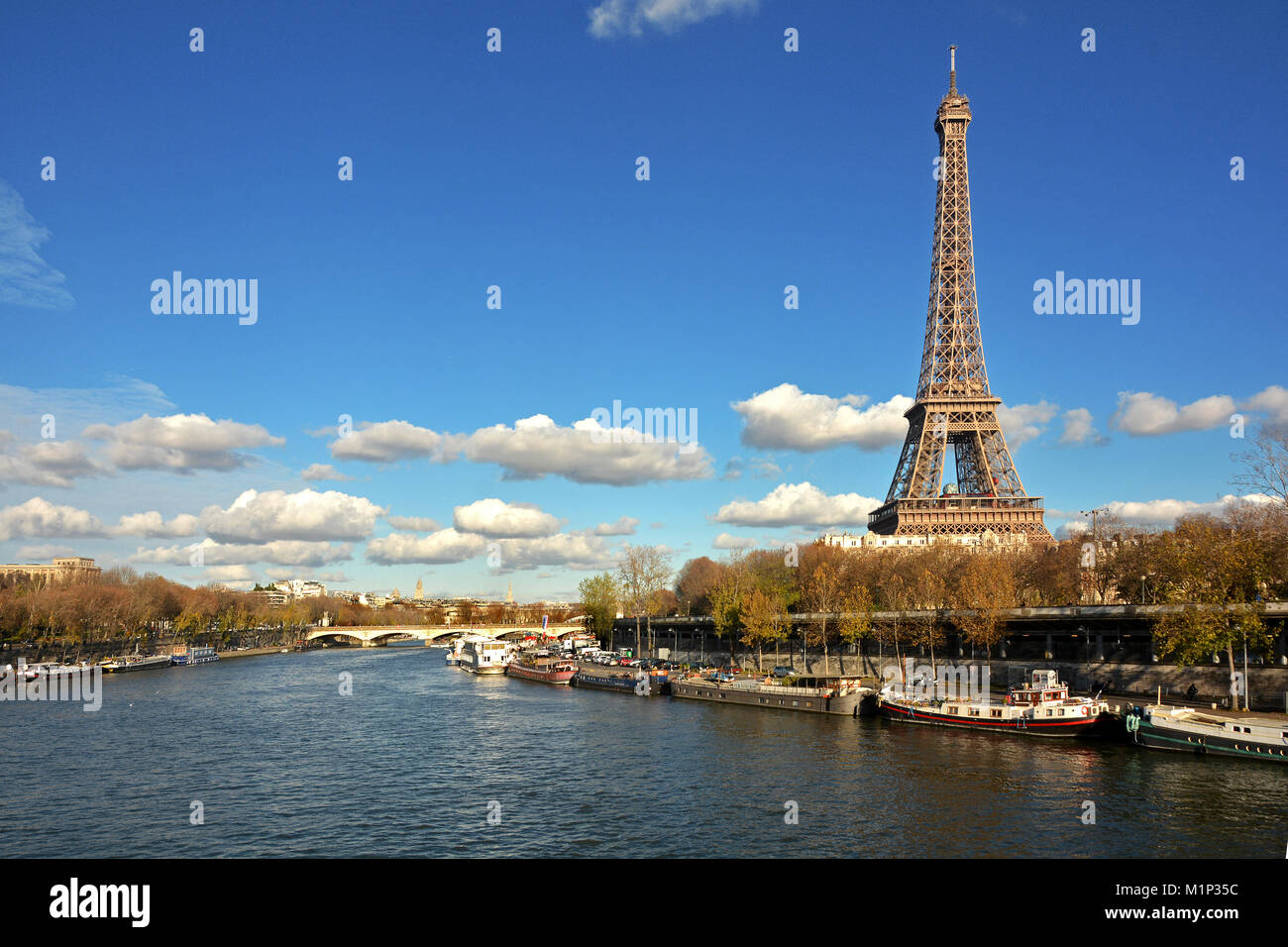 Eiffel Tower, Paris, France, Europe - Stock Image