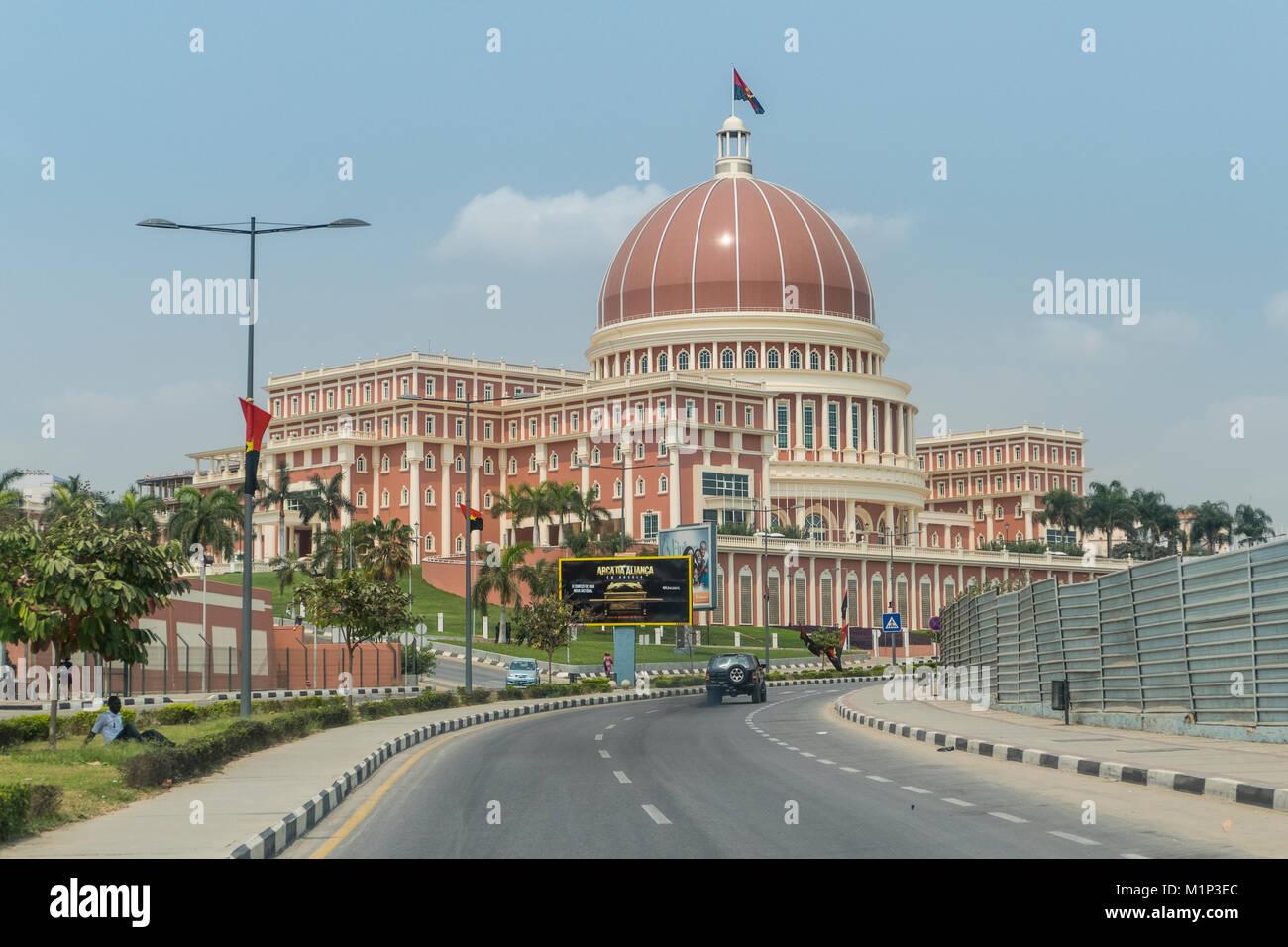 National Assembly of Angola, Luanda, Angola, Africa Stock Photo